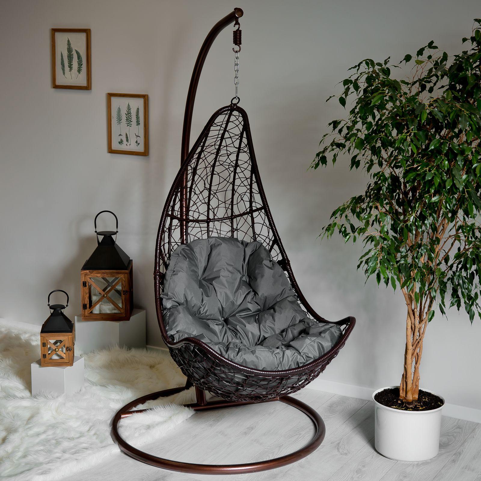 Cojín trapezoidal para silla colgante D031-26CW 144 x 90/64 x 10/12 cm PATIO