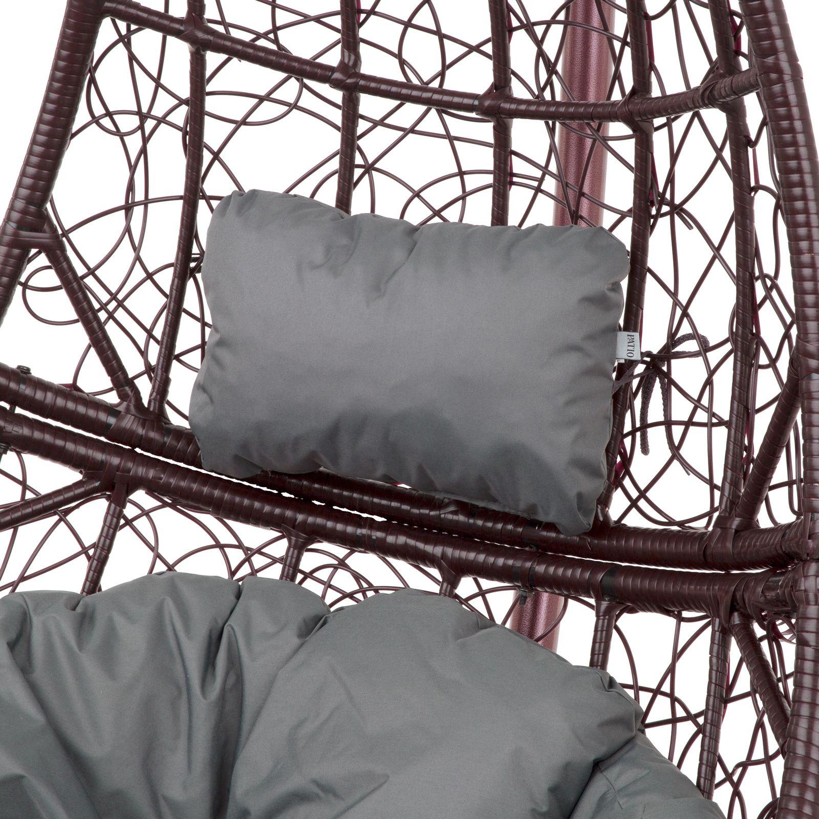 Cojín reposacabezas para sillón colgante D031-26CW 20 x 32 x 10 cm PATIO