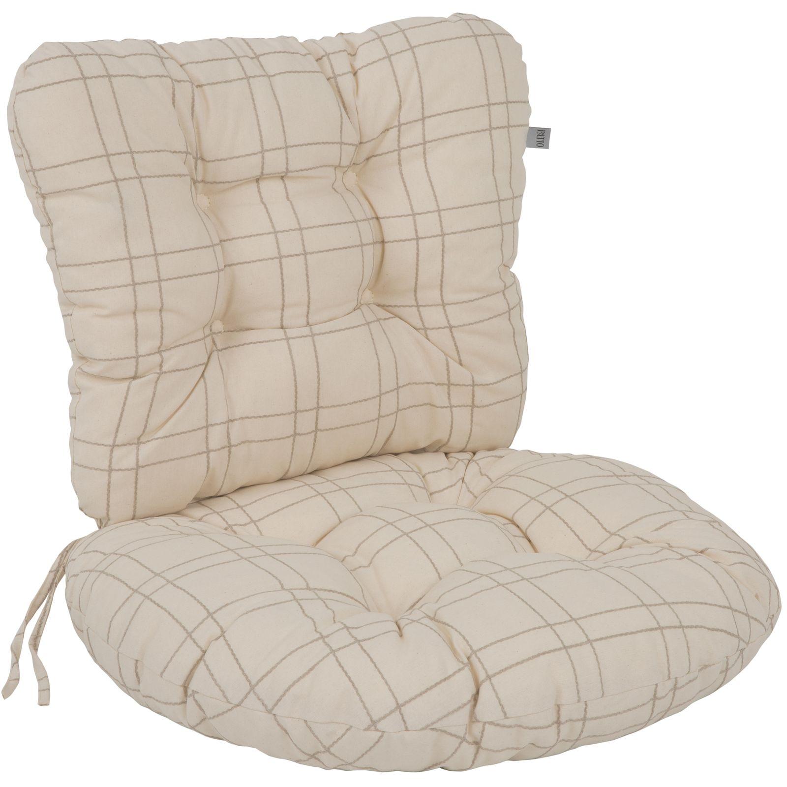 Conjunto de cojines para sillón 55 cm Marocco B007-15LB PATIO