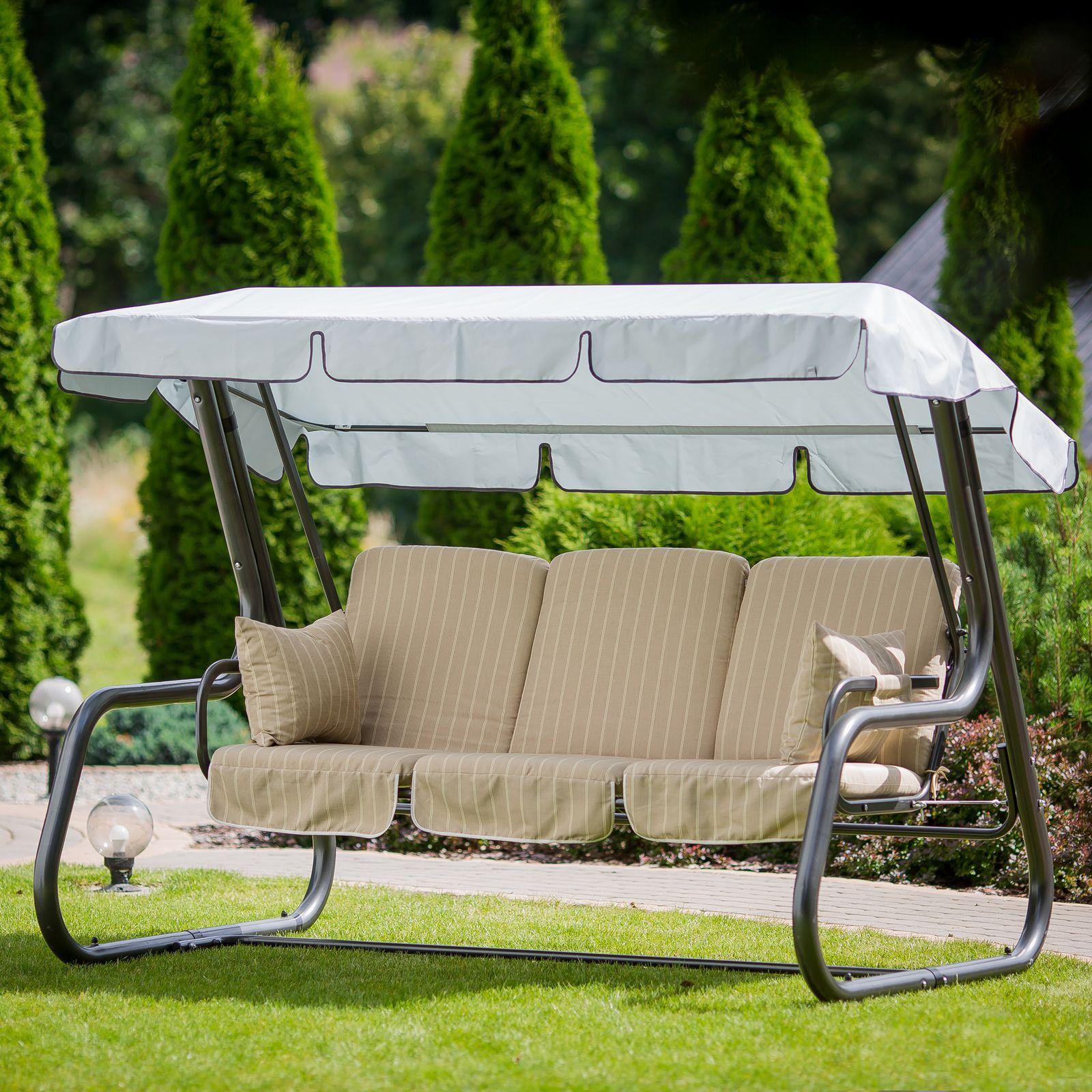 Poduszki na huśtawkę 180 cm z zamkami Rimini / Venezia Lux C032-05EB PATIO