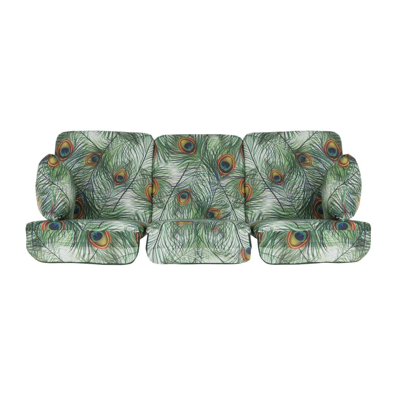 Poduszki na huśtawkę 180 cm z zamkami Rimini / Venezia Lux G036-02LB PATIO
