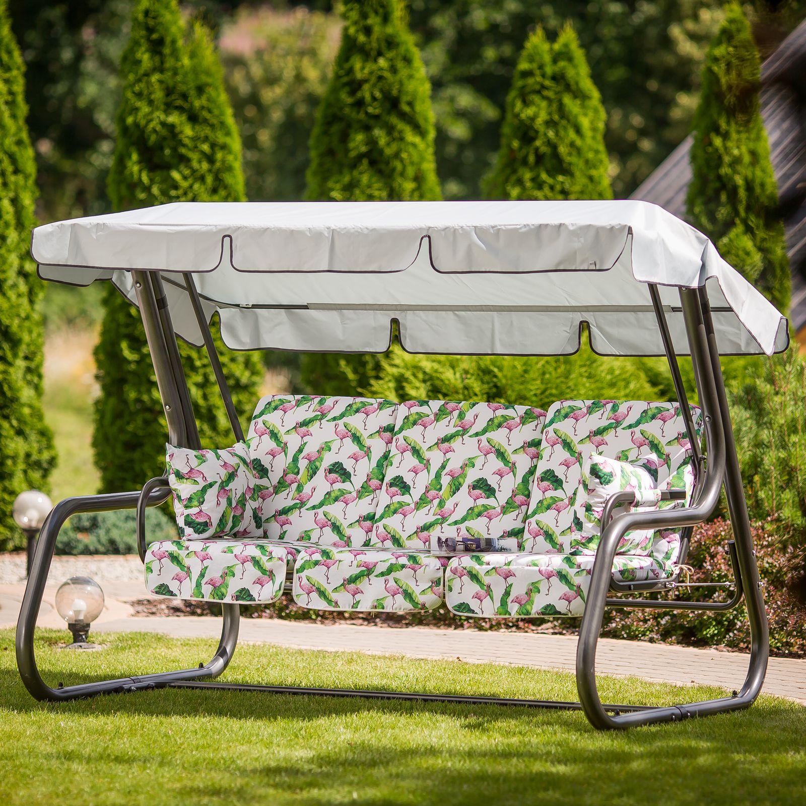 Poduszki na huśtawkę 180 cm z zamkami Rimini / Venezia Lux G037-03LB PATIO