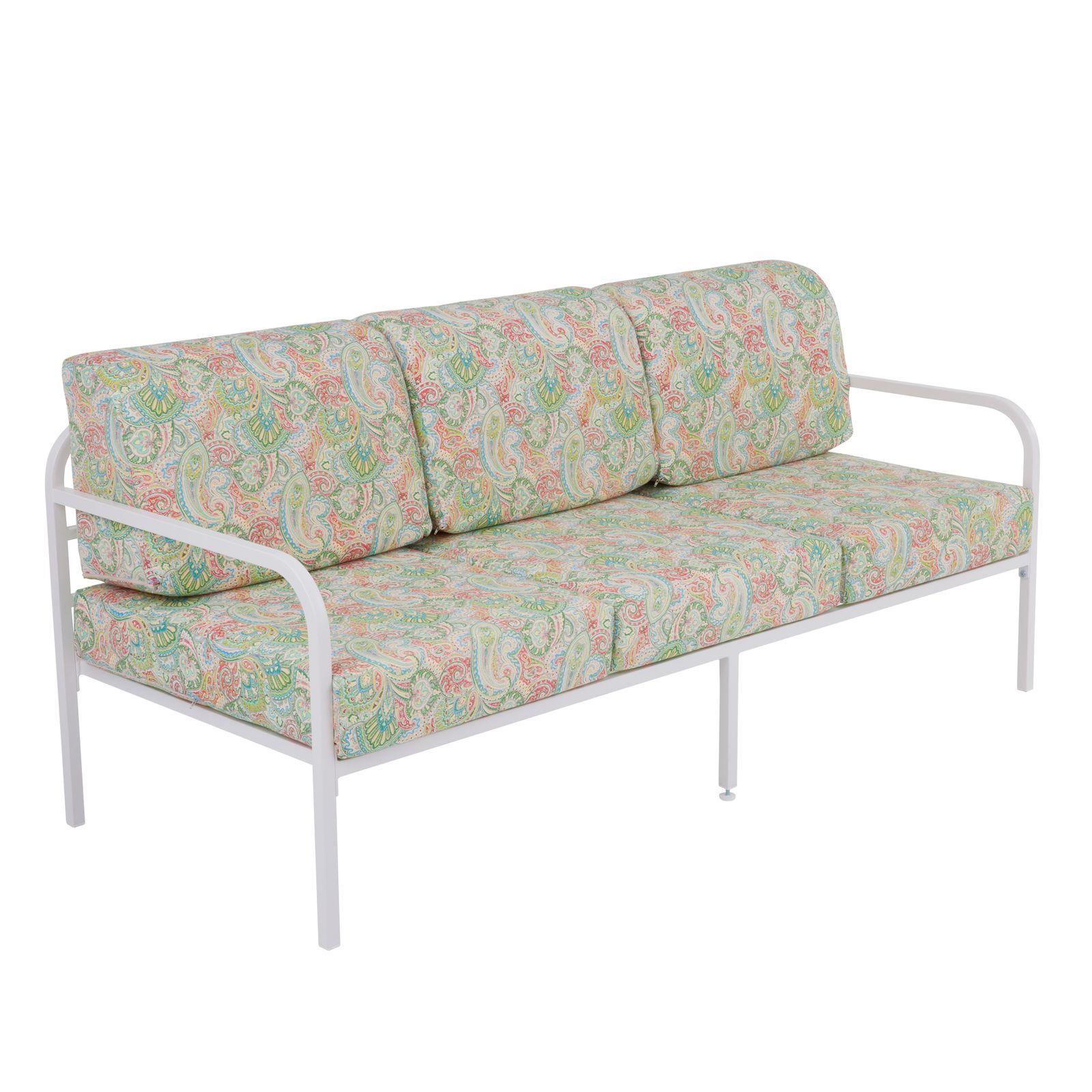Sofa 3-osobowa Agat 185 x 77 x 74 cm G038-12LB PATIO