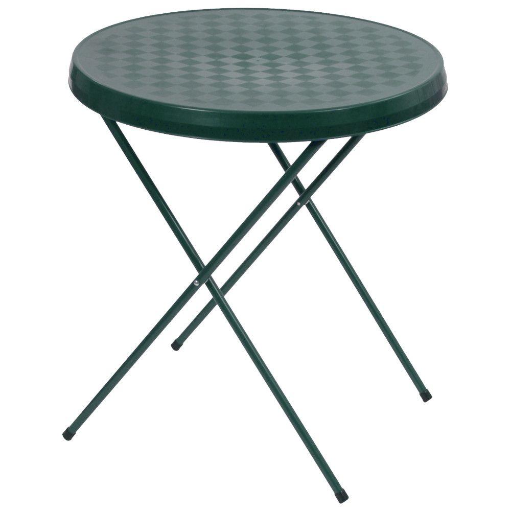Stolik turystyczny 59 cm zielony PATIO