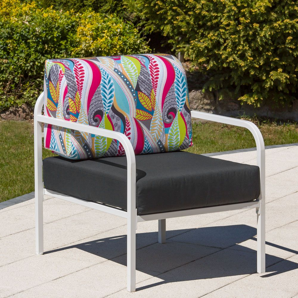 Fotel Agat 65 x 77 x 74 cm L122-07EB PATIO