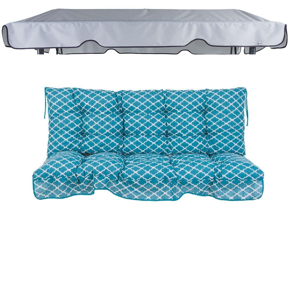 Poduszki z daszkiem na huśtawkę 150 cm Piemont H030-21PB PATIO