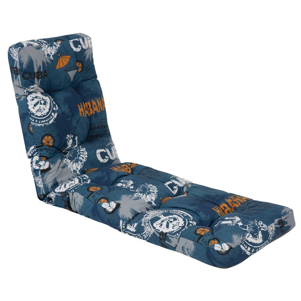 Poduszka na leżak / łóżko Tulon F001-01LB PATIO
