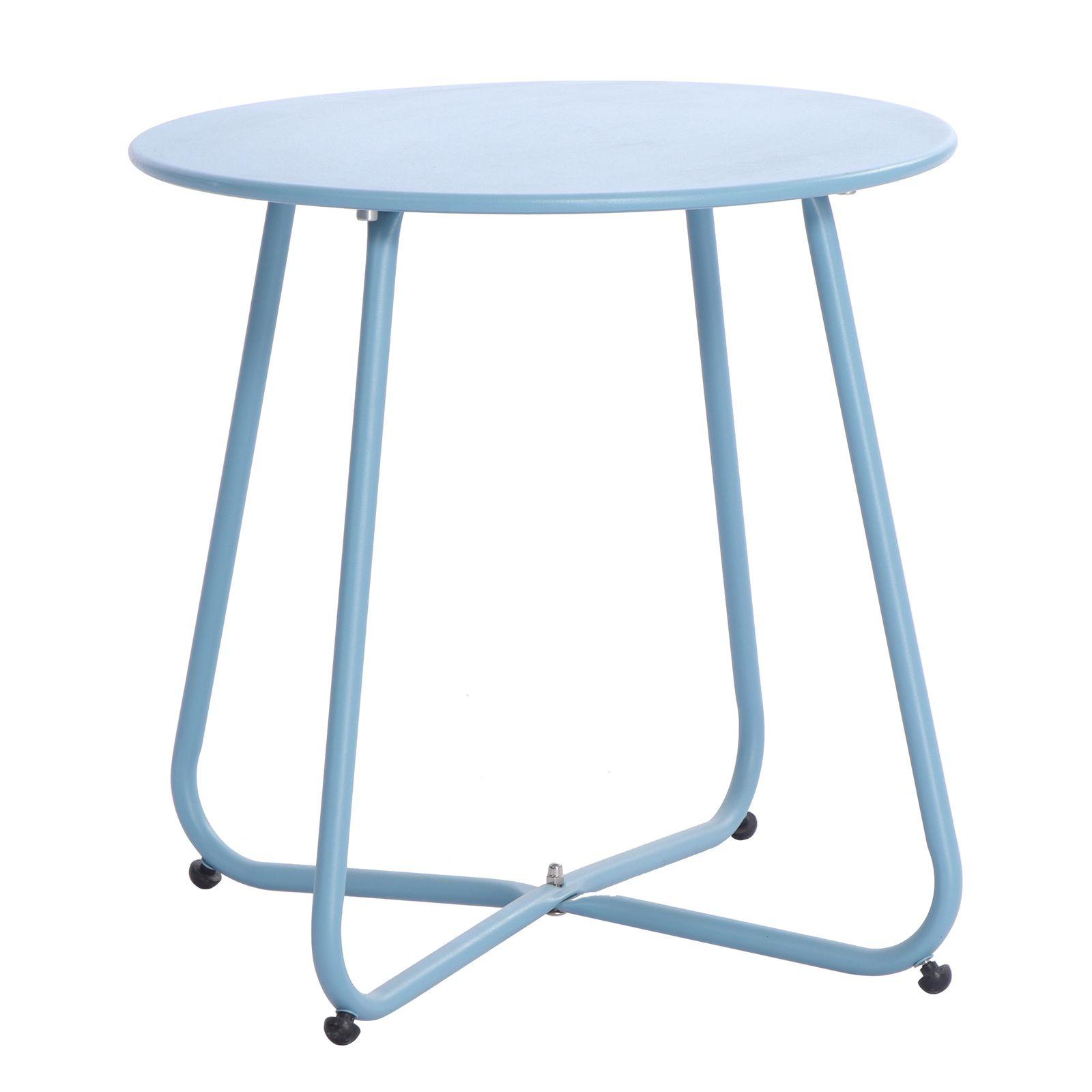Stolik ogrodowy Florian 45 cm niebieski PATIO