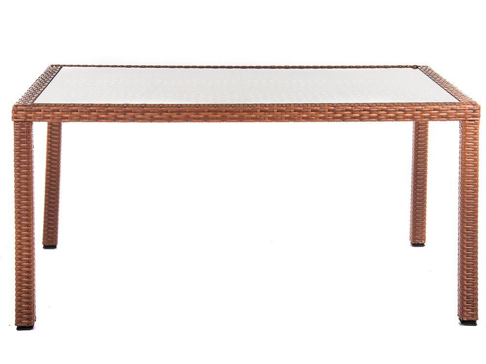 Stół Loretta 150 x 90 x 76 cm cappucino PATIO