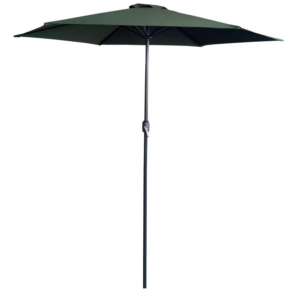 Parasol ogrodowy 3 m zielony / antracyt  PATIO