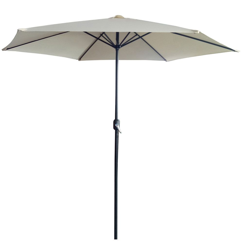 Parasol ogrodowy 3 m ecru / antracyt  PATIO