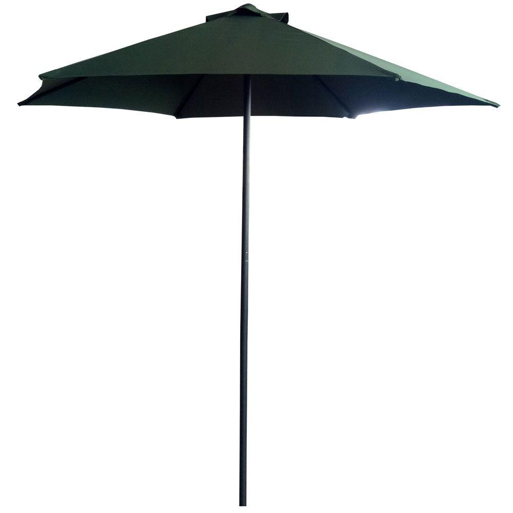 Parasol ogrodowy Push Up 2,5 m zielony PATIO