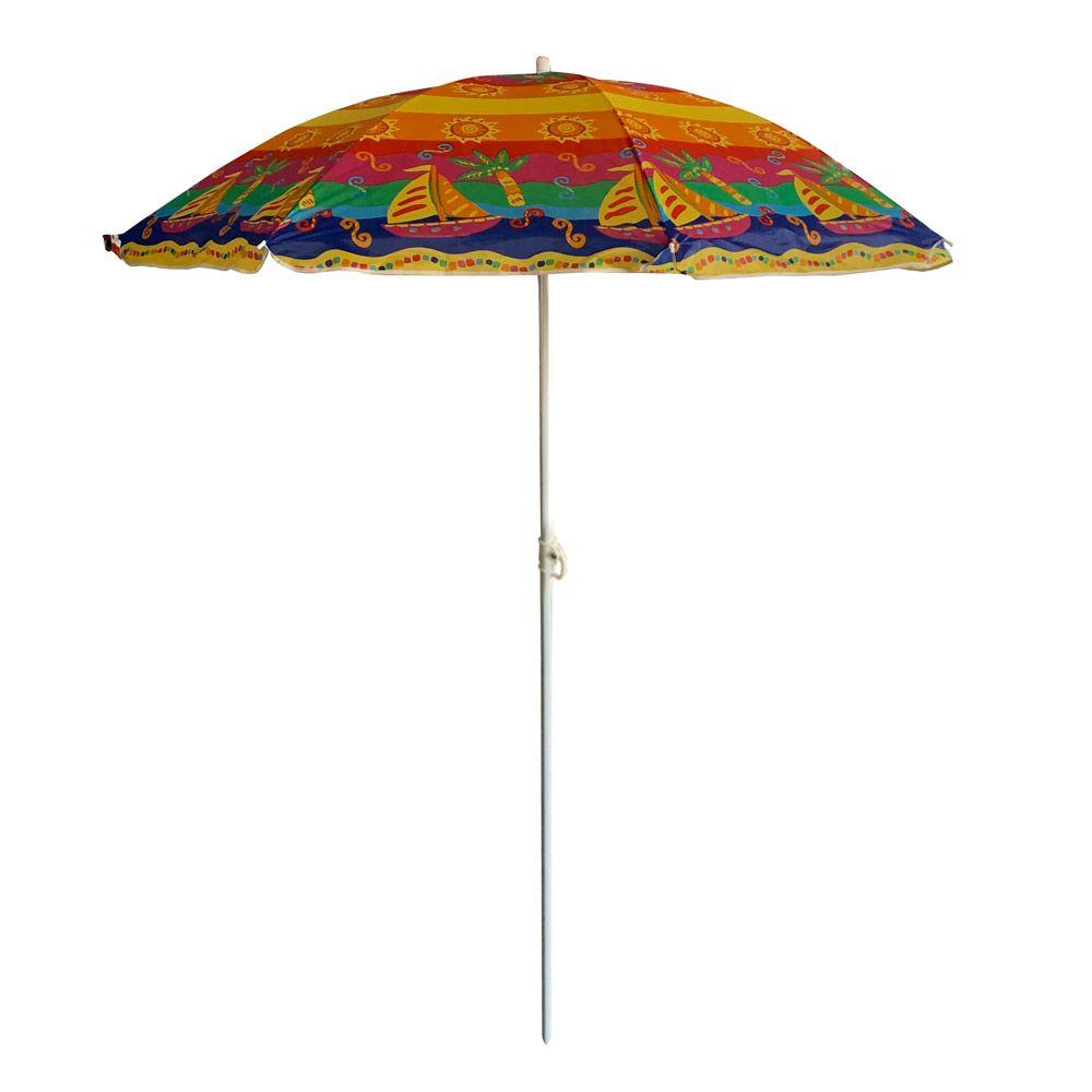 Parasol plażowy / ogrodowy 1,7 m Poly PATIO MIX KOLORÓW