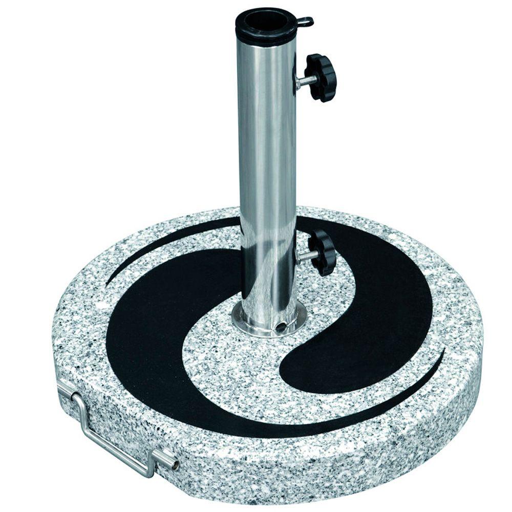 Base support de parasol en granite 24 kg