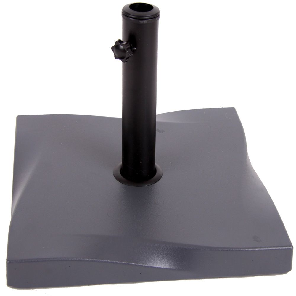 Pied support de parasol en béton 25 kg