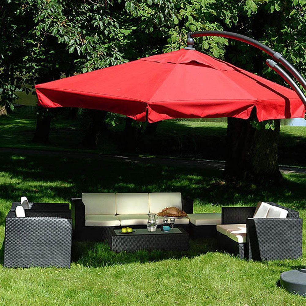 Set mobilier de grădină Isabelle, negru PATIO