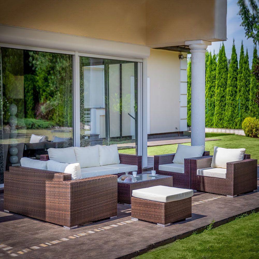 Set mobilier de grădină Isabelle, wenge PATIO