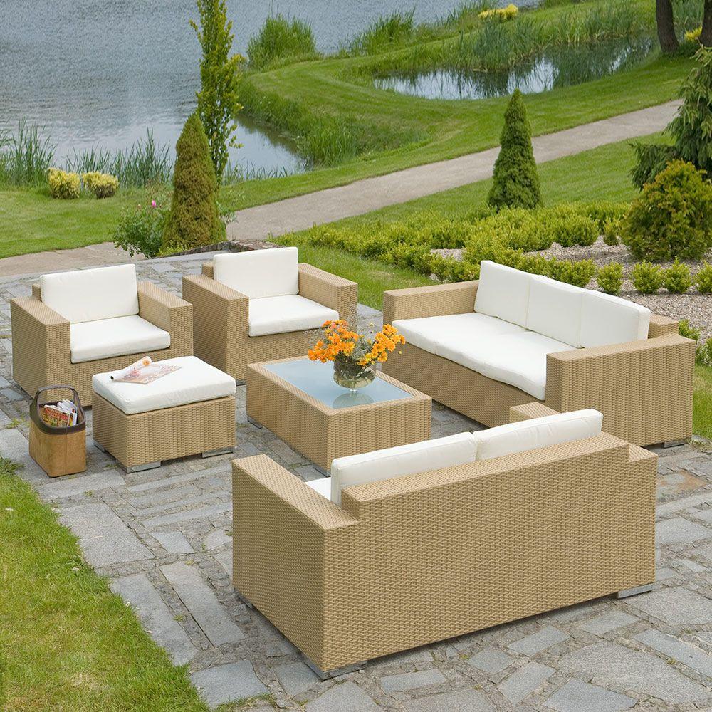 Set mobilier de grădină Isabelle, bej PATIO
