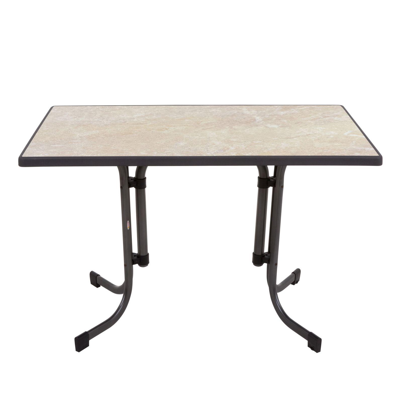 Stół Dine & Relax hiszpański 110 x 70 cm ceramico /antracyt PATIO