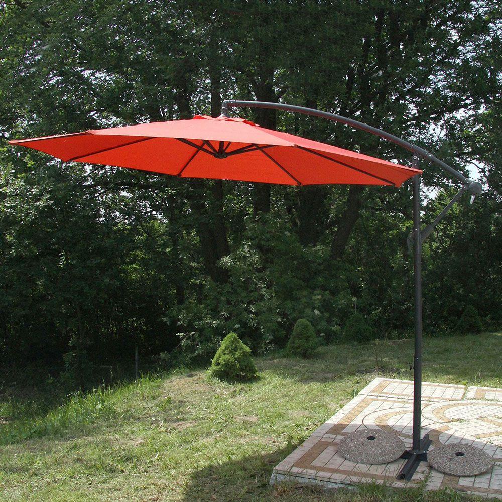 Parasol de jardin deporté 3 m PATIO