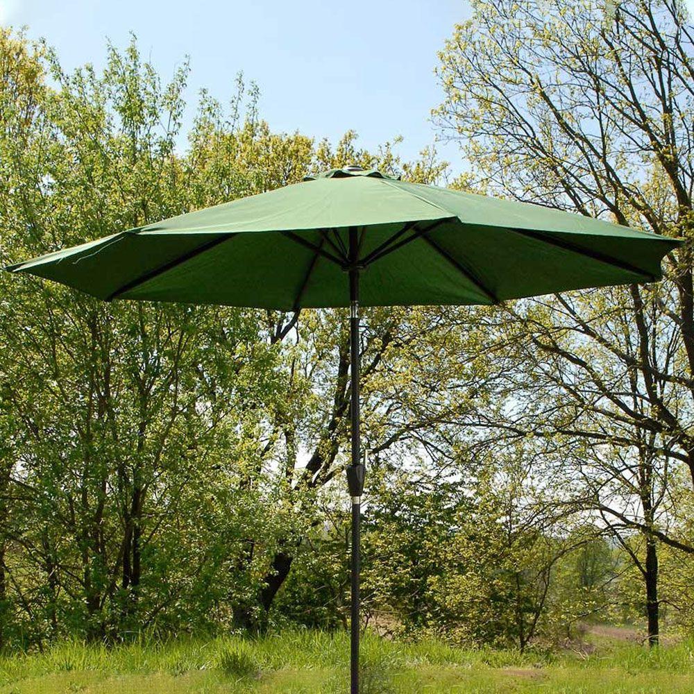 Parasol de jardin 3 m vert PATIO