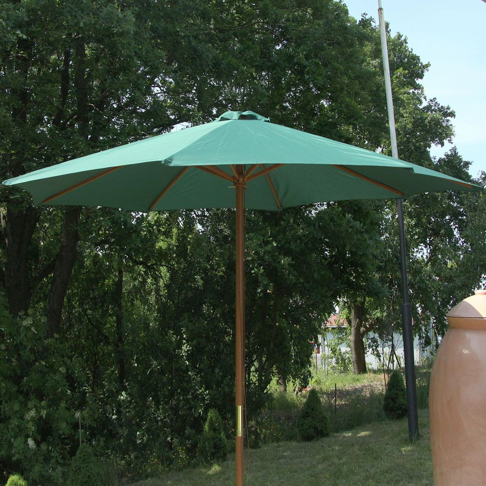 Parasol de jardin Poly vert 3 m PATIO