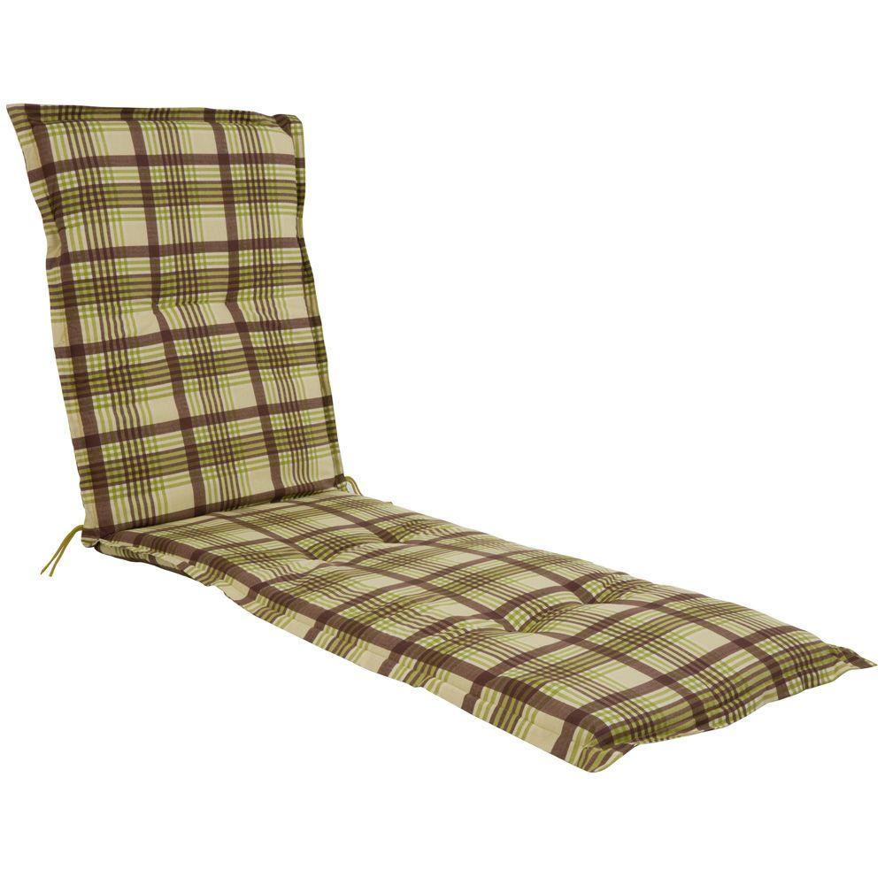 Cojín colchón para tumbona de jardín Malezja Liege 5 cm B003-12BB (06018-12) PATIO
