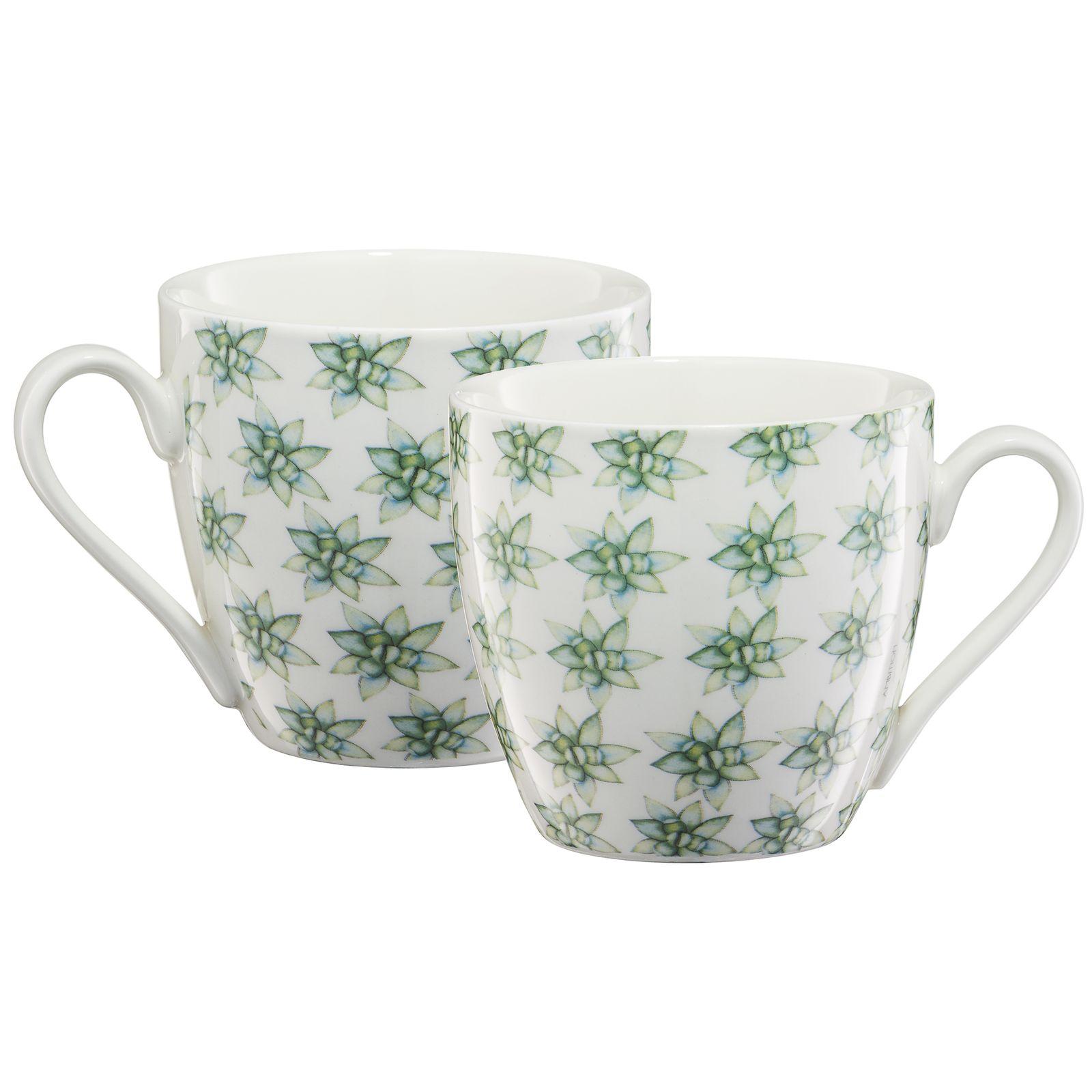 Kubek porcelanowy Cactus pattern 510 ml AMBITION