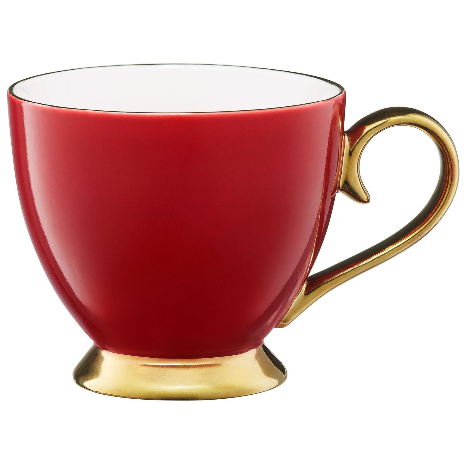 Kubek Royal 400 ml czerwono-złoty AMBITION
