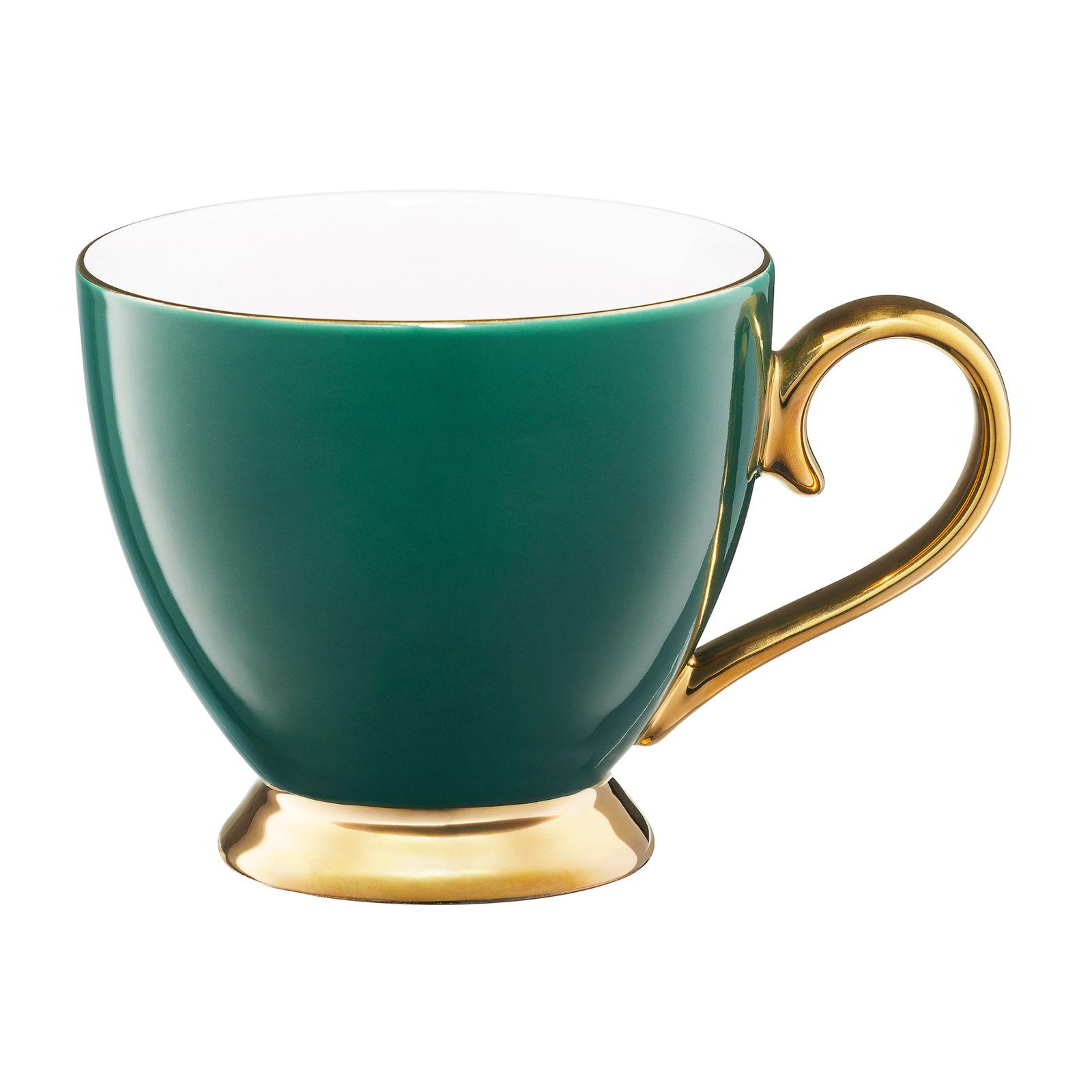 Kubek Royal 400 ml zielono-złoty AMBITION