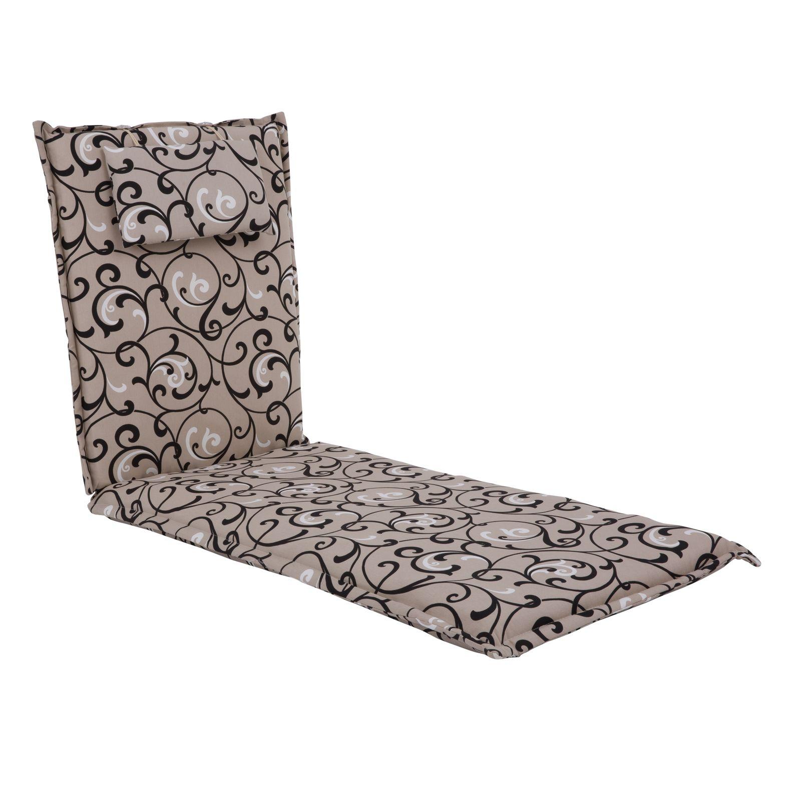 Poduszka na leżak / łóżko Premium Liege 3033BB PATIO
