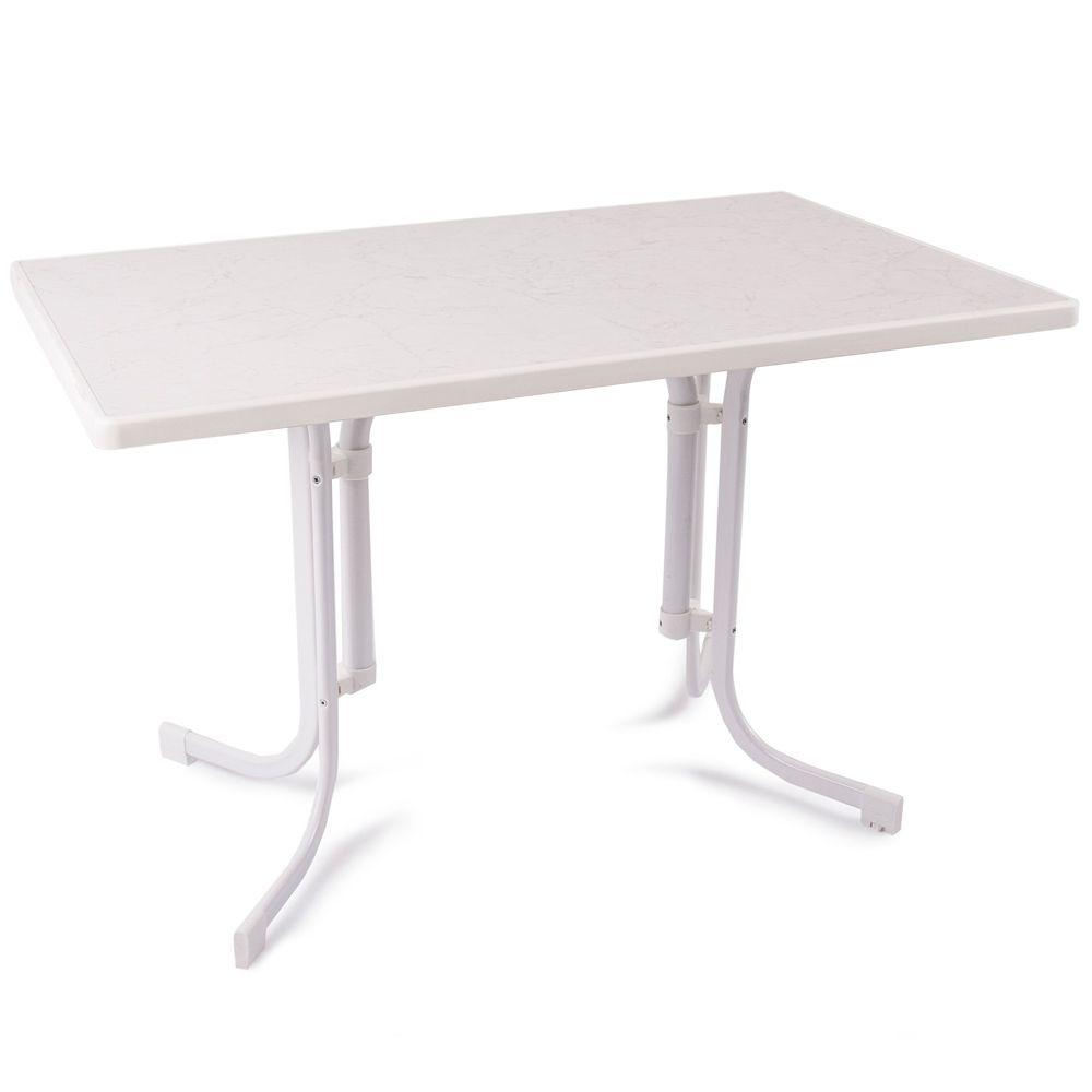 Stół Dine & Relax hiszpański 110 x 70 cm biały PATIO