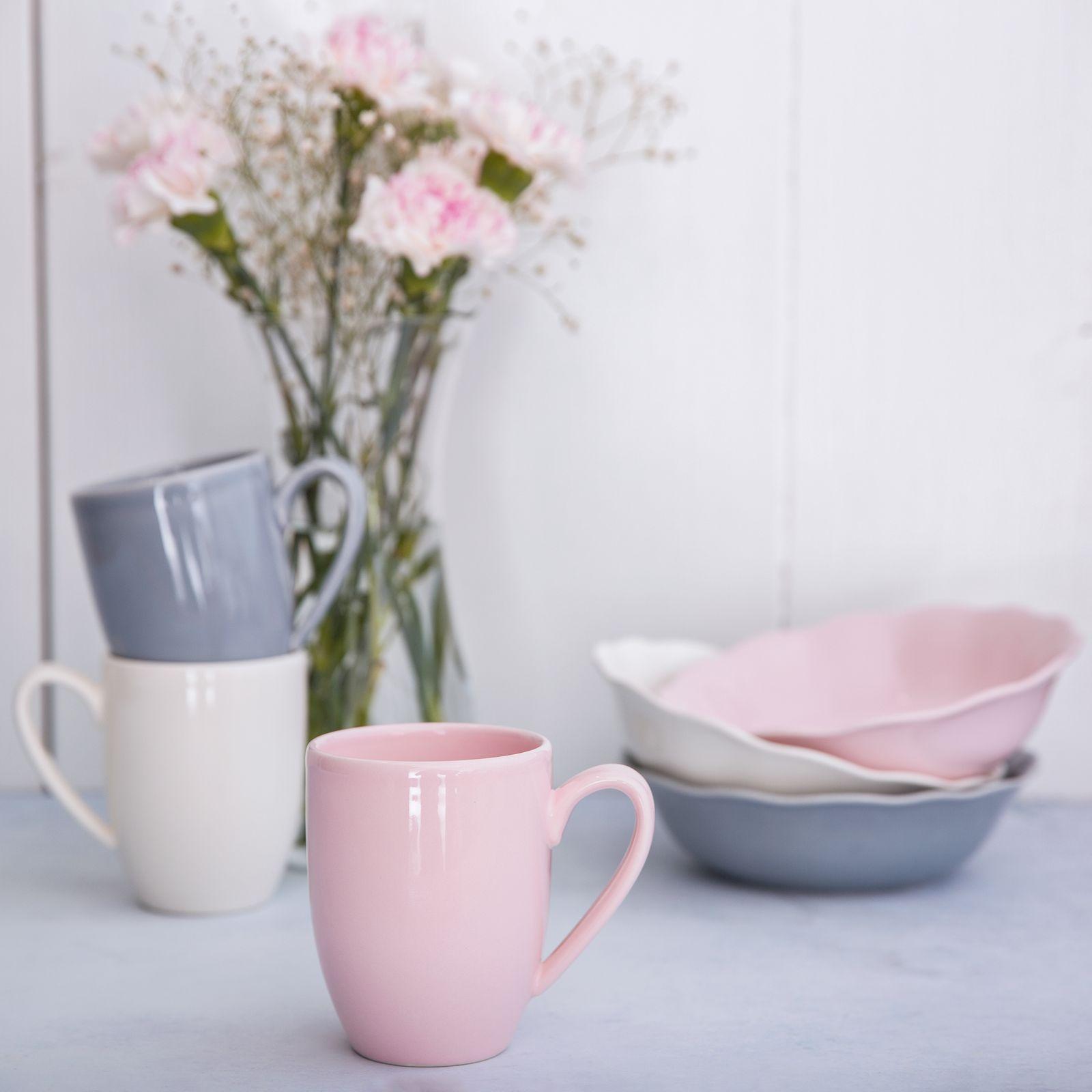 Kubek Diana Rustic 300 ml Pink AMBITION