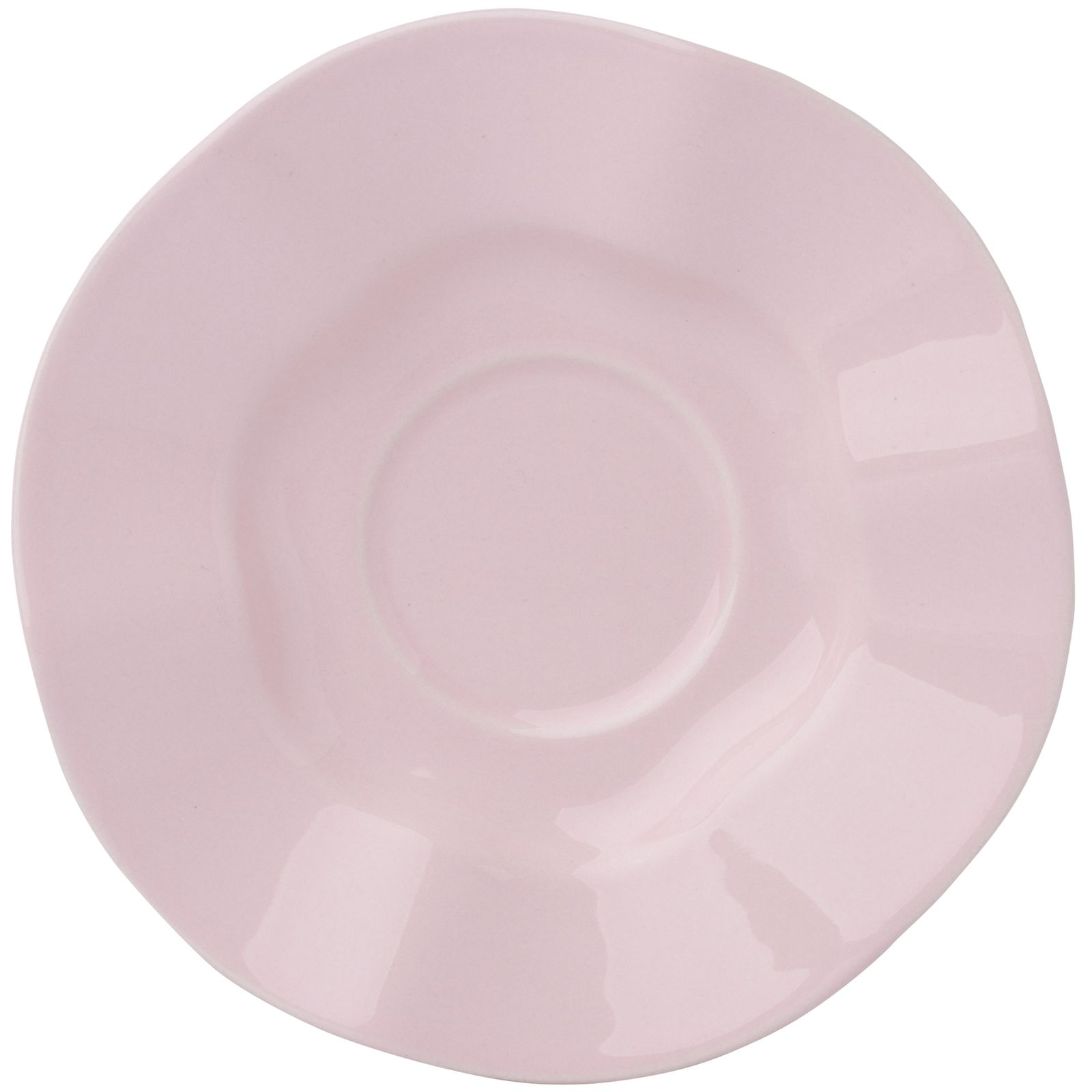 Soucoupe Diana Rustic Pink 15 cm AMBITION