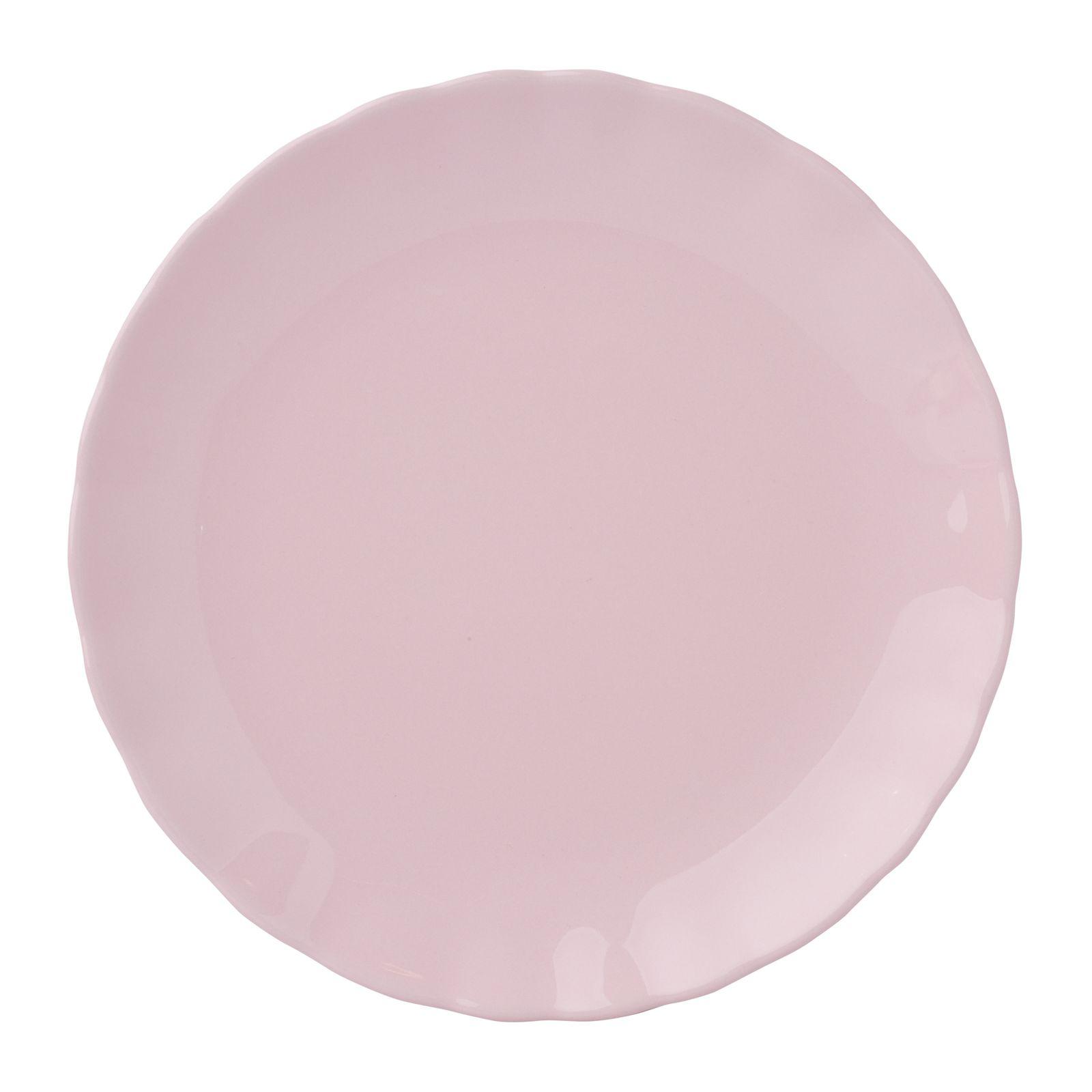 Talerz deserowy Diana Rustic Pink 19 cm AMBITION