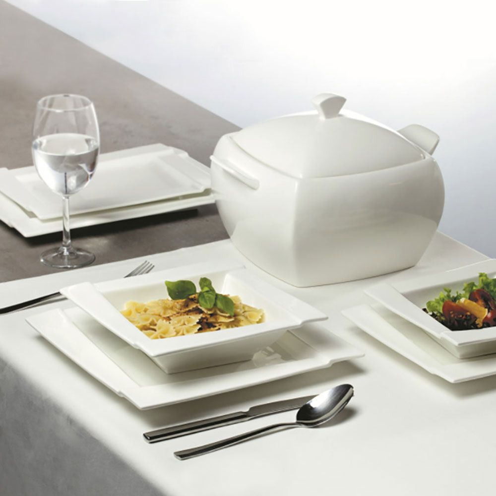 Komplet obiadowy Kubiko 42-elementowy AMBITION