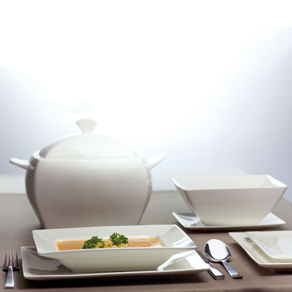 Komplet obiadowy Porto 42-elementowy AMBITION