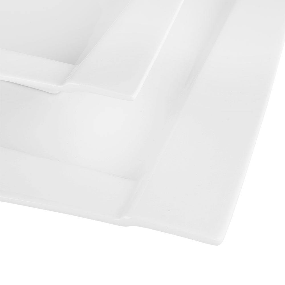 Deep plate Kubiko 20 x 20 cm AMBITION