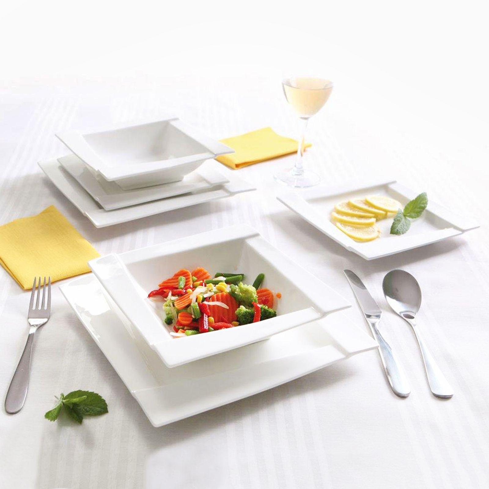 Komplet obiadowy Kubiko 77-elementowy AMBITION
