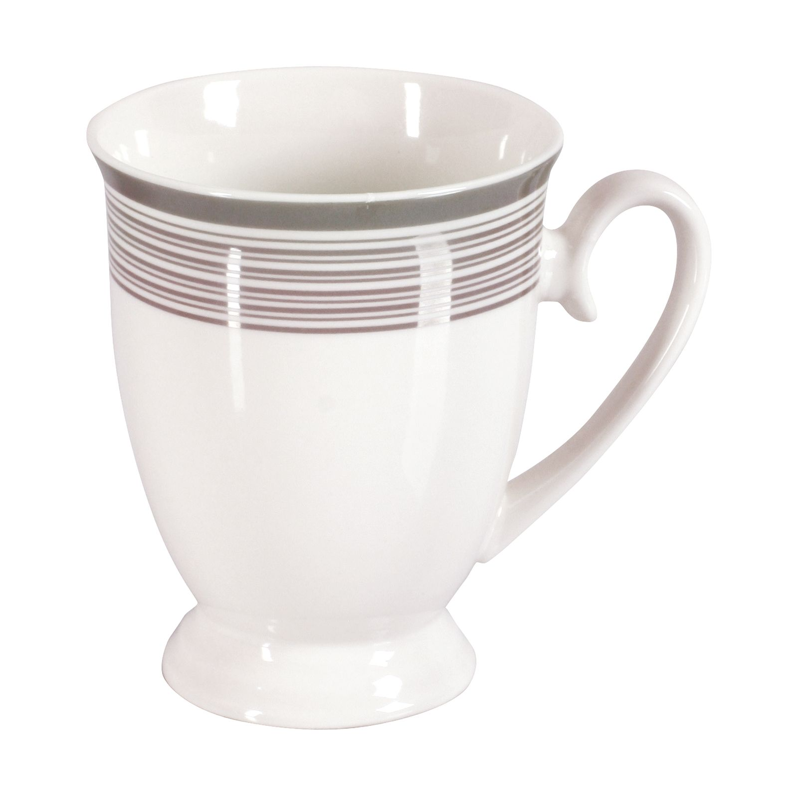 Porcelain mug Platinum DIANA 300ml pattern (3)