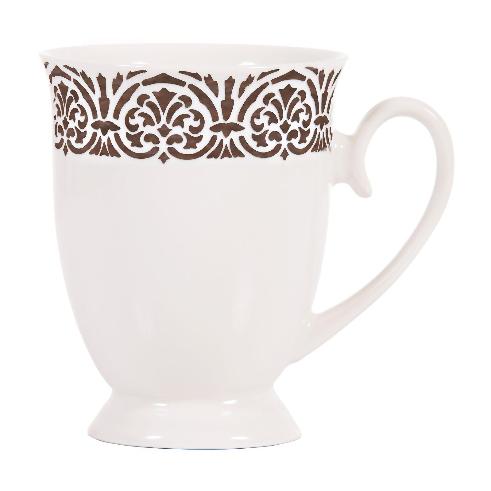 Kubek porcelanowy Diana Platyna 300 ml AMBITION