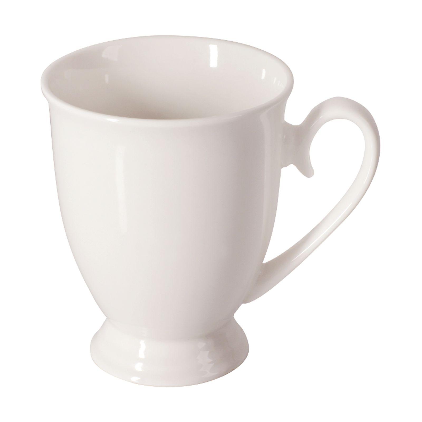 Porcelain mug smooth DIANA 300ml