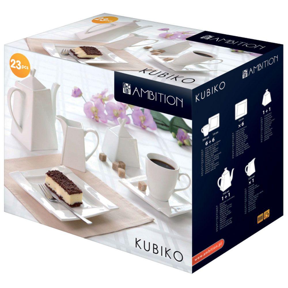 Coffee set Kubiko 23 pcs AMBITION