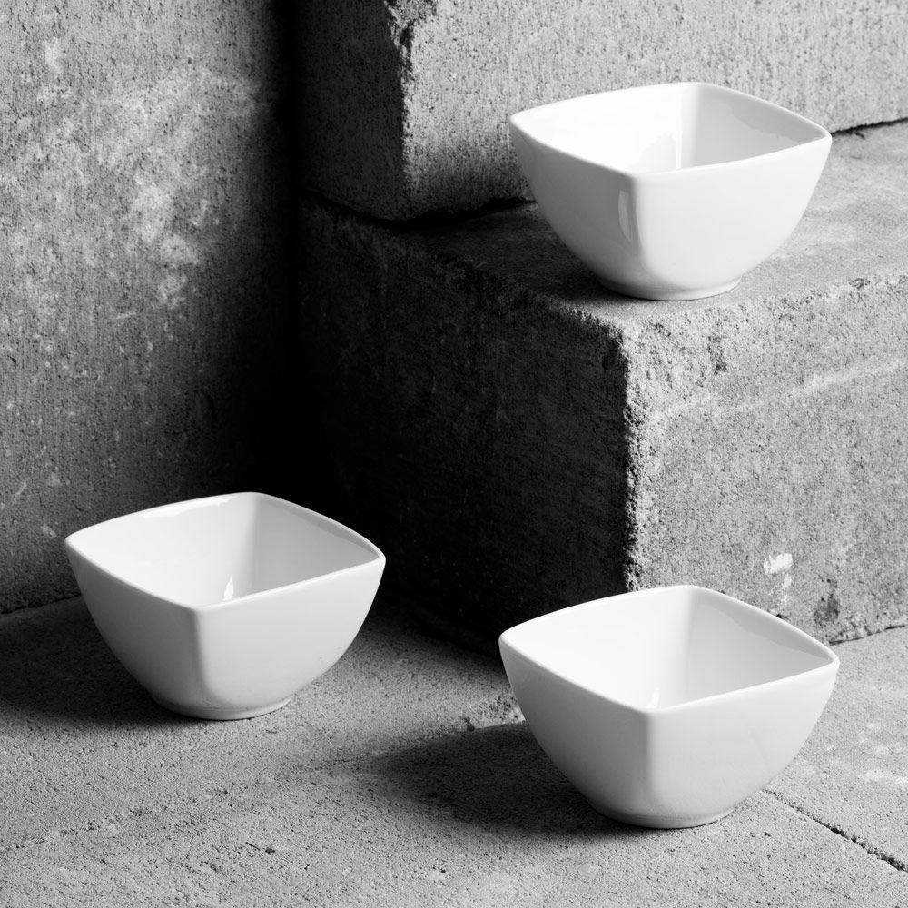 Set of 3 bowls 8x8cm SALSA