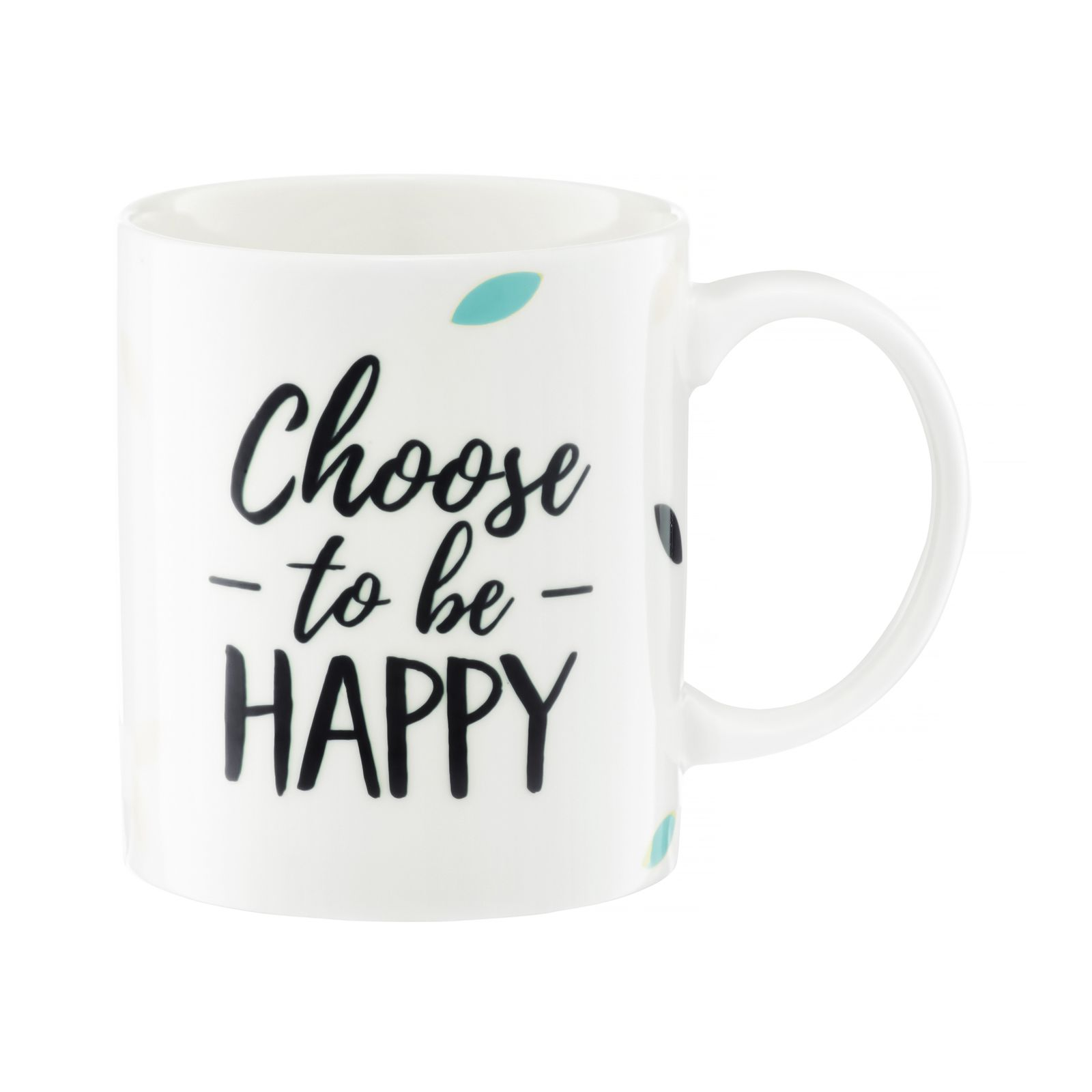 Kubek Nordic Choose To Be Happy 350 ml AMBITION