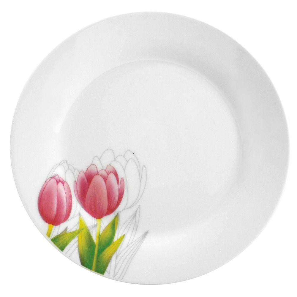 Plato Tulipán 23 cm DOMOTTI