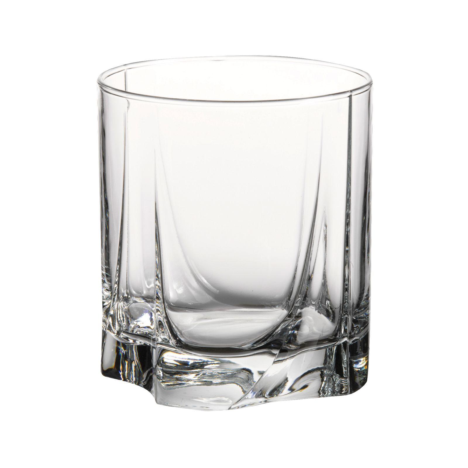 Set of 3 glasses Luna 245 ml PASABAHCE