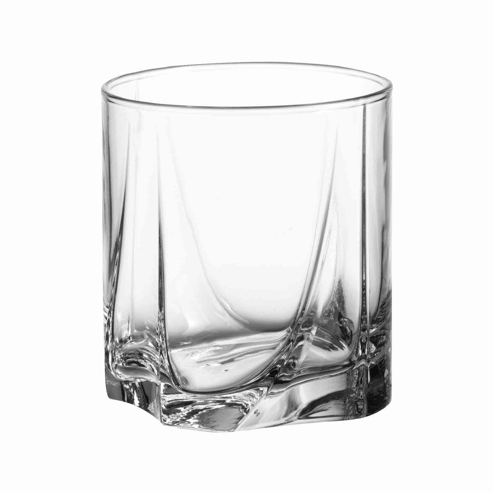 Set of 3 low glasses Luna 368 ml PASABAHCE
