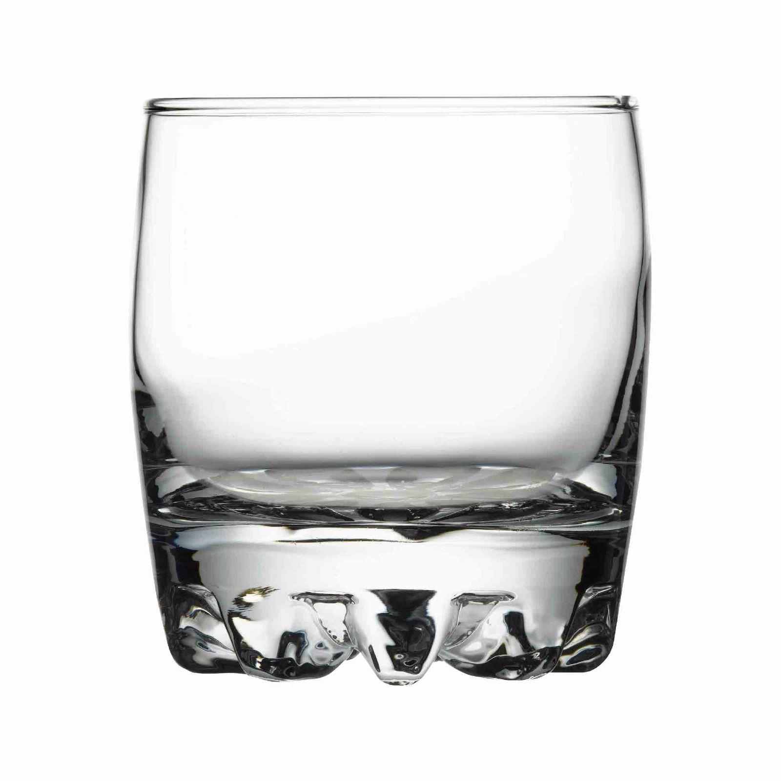 Set of 6 low glasses Sylvana 300 ml PASABAHCE