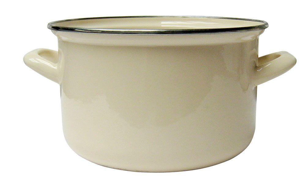 Smaltovaný hrnec Vigo Cream 24 cm DOMOTTI